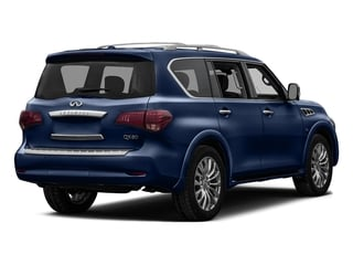 Hermosa Blue 2016 INFINITI QX80 Pictures QX80 Utility 4D 2WD V8 photos rear view