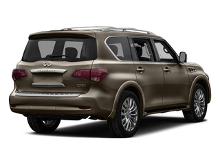 Mocha Almond 2016 INFINITI QX80 Pictures QX80 Utility 4D Limited AWD V8 photos rear view