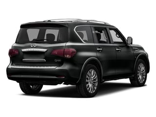 Imperial Black 2016 INFINITI QX80 Pictures QX80 Utility 4D Limited AWD V8 photos rear view