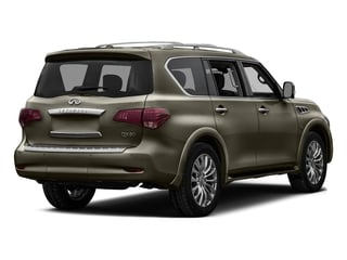 Smoky Quartz 2016 INFINITI QX80 Pictures QX80 Utility 4D 2WD V8 photos rear view