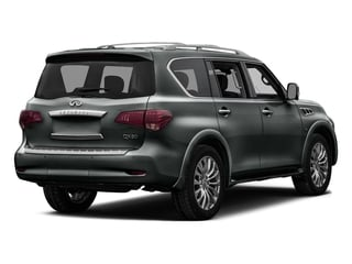 Graphite Shadow 2016 INFINITI QX80 Pictures QX80 Utility 4D Signature AWD V8 photos rear view
