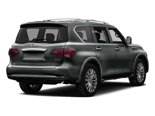 Graphite Shadow 2016 INFINITI QX80 Pictures QX80 Utility 4D 2WD V8 photos rear view