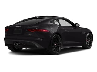 Ultimate Black Metallic 2016 Jaguar F-TYPE Pictures F-TYPE Coupe 2D S V6 photos rear view