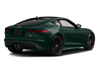 British Racing Green Metallic 2016 Jaguar F-TYPE Pictures F-TYPE Coupe 2D S V6 photos rear view