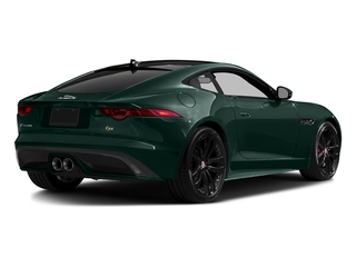 British Racing Green Metallic 2016 Jaguar F-TYPE Pictures F-TYPE Coupe 2D S AWD V6 photos rear view