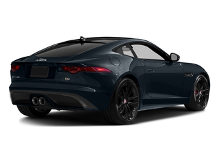 Dark Sapphire Metallic 2016 Jaguar F-TYPE Pictures F-TYPE Coupe 2D S AWD V6 photos rear view