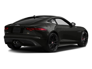 Stratus Gray Metallic 2016 Jaguar F-TYPE Pictures F-TYPE Coupe 2D S V6 photos rear view
