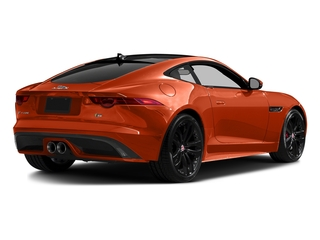 Firesand Metallic 2016 Jaguar F-TYPE Pictures F-TYPE Coupe 2D S V6 photos rear view