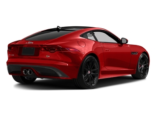 Salsa Red 2016 Jaguar F-TYPE Pictures F-TYPE Coupe 2D S AWD V6 photos rear view