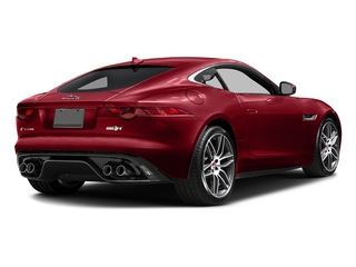 Italian Racing Red Metallic 2016 Jaguar F-TYPE Pictures F-TYPE Coupe 2D R AWD V8 photos rear view