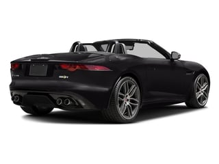 Ultimate Black Metallic 2016 Jaguar F-TYPE Pictures F-TYPE Convertible 2D R AWD V8 photos rear view