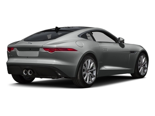 Ammonite Gray Metallic 2016 Jaguar F-TYPE Pictures F-TYPE Coupe 2D V6 photos rear view