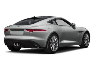 Rhodium Silver Metallic 2016 Jaguar F-TYPE Pictures F-TYPE Coupe 2D V6 photos rear view