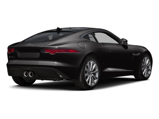 Ultimate Black Metallic 2016 Jaguar F-TYPE Pictures F-TYPE Coupe 2D V6 photos rear view