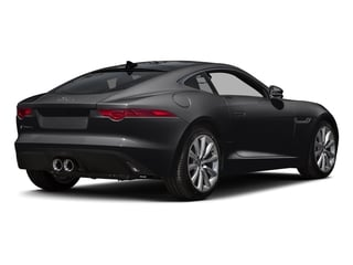 Ebony Black 2016 Jaguar F-TYPE Pictures F-TYPE Coupe 2D V6 photos rear view