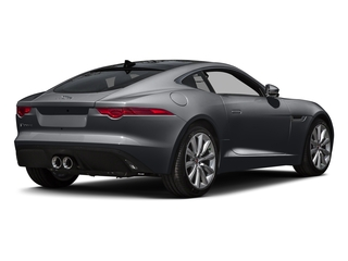 Stratus Gray Metallic 2016 Jaguar F-TYPE Pictures F-TYPE Coupe 2D V6 photos rear view