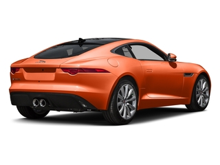 Firesand Metallic 2016 Jaguar F-TYPE Pictures F-TYPE Coupe 2D V6 photos rear view