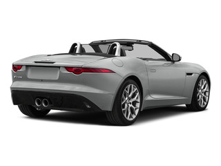 Rhodium Silver Metallic 2016 Jaguar F-TYPE Pictures F-TYPE Convertible 2D V6 photos rear view