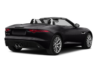 Ultimate Black Metallic 2016 Jaguar F-TYPE Pictures F-TYPE Convertible 2D V6 photos rear view