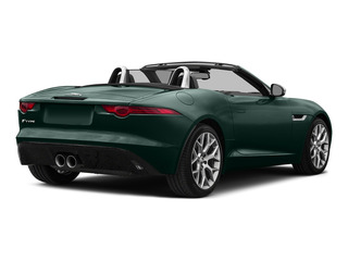 British Racing Green Metallic 2016 Jaguar F-TYPE Pictures F-TYPE Convertible 2D V6 photos rear view
