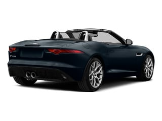 Dark Sapphire Metallic 2016 Jaguar F-TYPE Pictures F-TYPE Convertible 2D V6 photos rear view