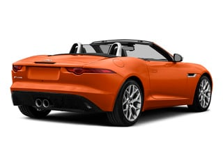 Firesand Metallic 2016 Jaguar F-TYPE Pictures F-TYPE Convertible 2D V6 photos rear view