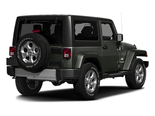 Tank Clearcoat 2016 Jeep Wrangler Pictures Wrangler Utility 2D Sahara 4WD V6 photos rear view