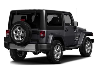 Rhino Clearcoat 2016 Jeep Wrangler Pictures Wrangler Utility 2D Sahara 4WD V6 photos rear view