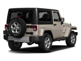 Mojave Sand Clearcoat 2016 Jeep Wrangler Pictures Wrangler Utility 2D Sahara 4WD V6 photos rear view