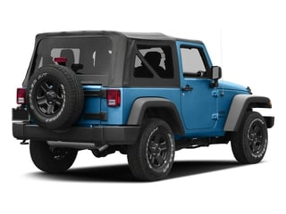 Hydro Blue Pearlcoat 2016 Jeep Wrangler Pictures Wrangler Utility 2D Sport 4WD V6 photos rear view