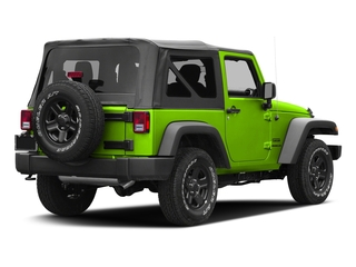 Hypergreen Clearcoat 2016 Jeep Wrangler Pictures Wrangler Utility 2D Sport 4WD V6 photos rear view
