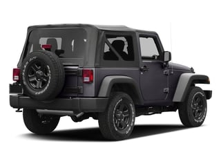 Rhino Clearcoat 2016 Jeep Wrangler Pictures Wrangler Utility 2D Sport 4WD V6 photos rear view