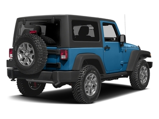 Hydro Blue Pearlcoat 2016 Jeep Wrangler Pictures Wrangler Utility 2D Rubicon 4WD V6 photos rear view