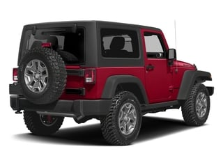 Firecracker Red Clearcoat 2016 Jeep Wrangler Pictures Wrangler Utility 2D Rubicon 4WD V6 photos rear view