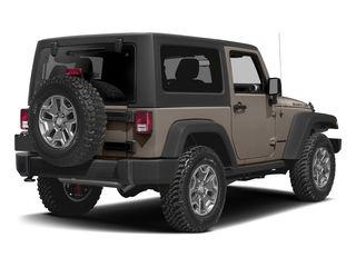 Mojave Sand Clearcoat 2016 Jeep Wrangler Pictures Wrangler Utility 2D Rubicon 4WD V6 photos rear view