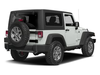 Bright White Clearcoat 2016 Jeep Wrangler Pictures Wrangler Utility 2D Rubicon 4WD V6 photos rear view