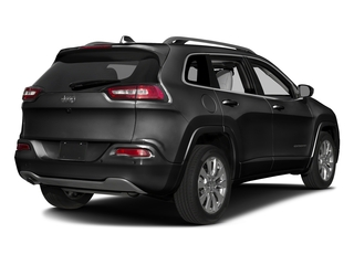 Brilliant Black Crystal Pearlcoat 2016 Jeep Cherokee Pictures Cherokee Utility 4D Overland 4WD photos rear view