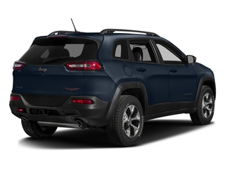 True Blue Pearlcoat 2016 Jeep Cherokee Pictures Cherokee Utility 4D Trailhawk 4WD photos rear view