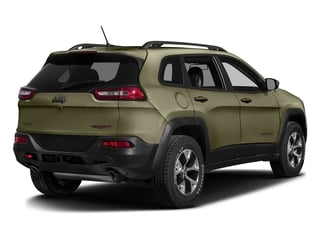 Eco Green Pearlcoat 2016 Jeep Cherokee Pictures Cherokee Utility 4D Trailhawk 4WD photos rear view