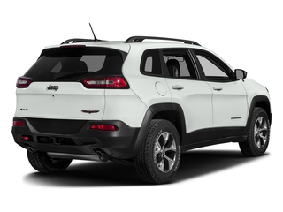 Bright White Clearcoat 2016 Jeep Cherokee Pictures Cherokee Utility 4D Trailhawk 4WD photos rear view