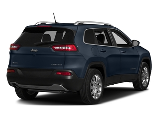 True Blue Pearlcoat 2016 Jeep Cherokee Pictures Cherokee Utility 4D Limited 2WD photos rear view