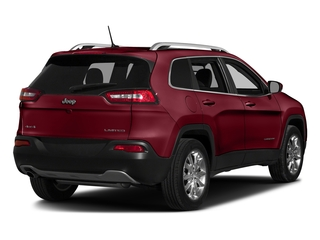 Deep Cherry Red Crystal Pearlcoat 2016 Jeep Cherokee Pictures Cherokee Utility 4D Limited 2WD photos rear view