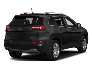 Brilliant Black Crystal Pearlcoat 2016 Jeep Cherokee Pictures Cherokee Utility 4D Limited 2WD photos rear view