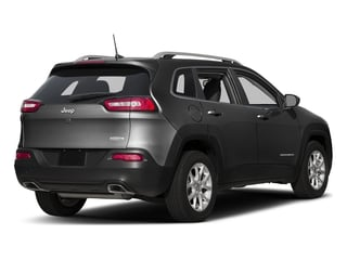 Brilliant Black Crystal Pearlcoat 2016 Jeep Cherokee Pictures Cherokee Utility 4D Latitude 4WD photos rear view