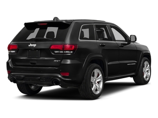 Brilliant Black Crystal Pearlcoat 2016 Jeep Grand Cherokee Pictures Grand Cherokee Utility 4D SRT-8 4WD photos rear view