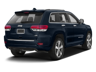 True Blue Pearlcoat 2016 Jeep Grand Cherokee Pictures Grand Cherokee Utility 4D Overland Diesel 4WD photos rear view