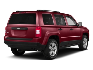 Deep Cherry Red Crystal Pearlcoat 2016 Jeep Patriot Pictures Patriot Utility 4D High Altitude 2WD I4 photos rear view