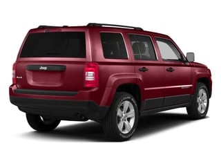 Deep Cherry Red Crystal Pearlcoat 2016 Jeep Patriot Pictures Patriot Utility 4D Latitude 4WD photos rear view