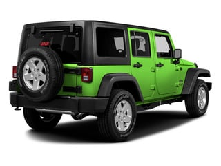 Hypergreen Clearcoat 2016 Jeep Wrangler Unlimited Pictures Wrangler Unlimited Utility 4D Unlimited Sport 4WD V6 photos rear view