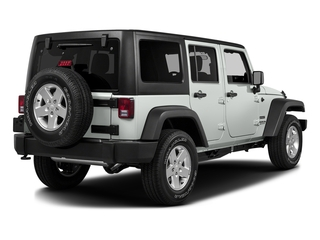 Bright White Clearcoat 2016 Jeep Wrangler Unlimited Pictures Wrangler Unlimited Utility 4D Unlimited Sport 4WD V6 photos rear view